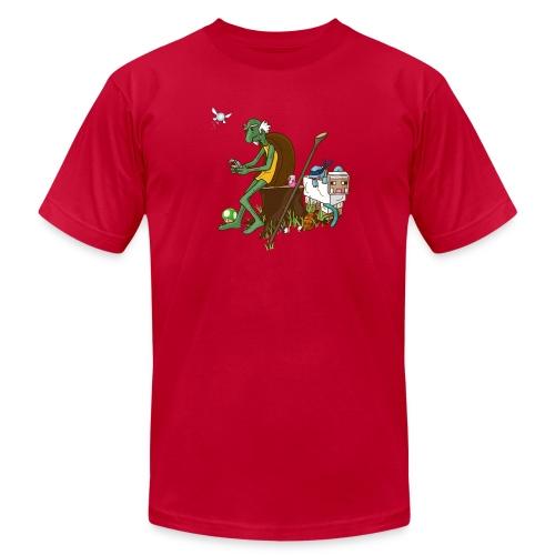 Men's Tortimer Let's Grey T-Shirt - Men's Fine Jersey T-Shirt