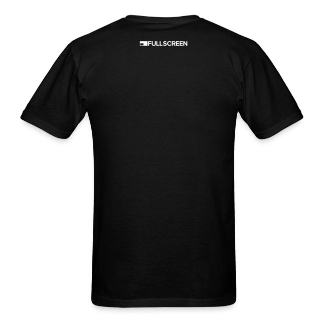 Fullscreen Play Button Men's T-Shirt