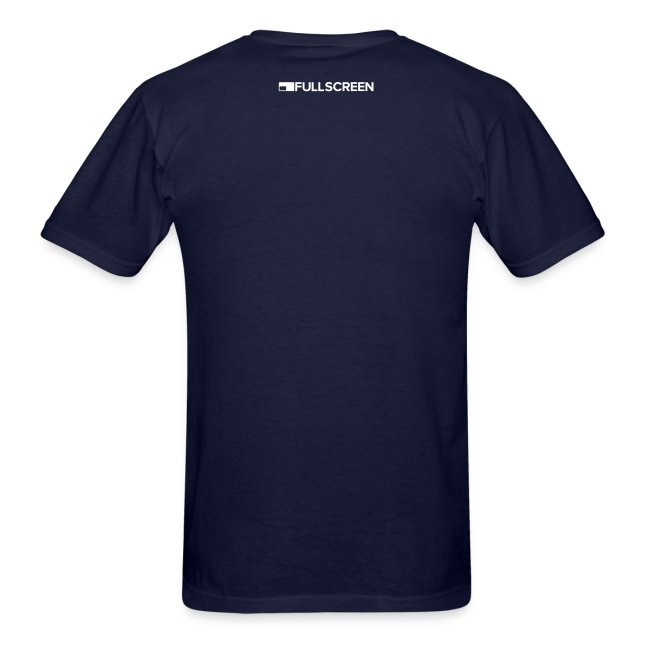 Fullscreen Play Button Men's T-Shirt