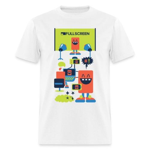 Fullscreen Bots Men's T-Shirt - Men's T-Shirt
