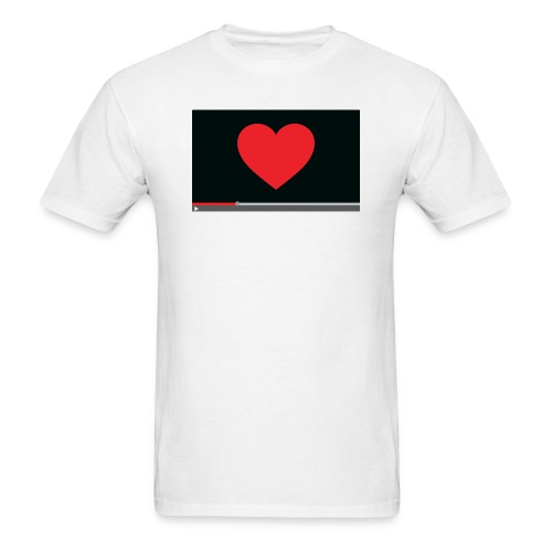 Heart Video Men's T-Shirt - Men's T-Shirt