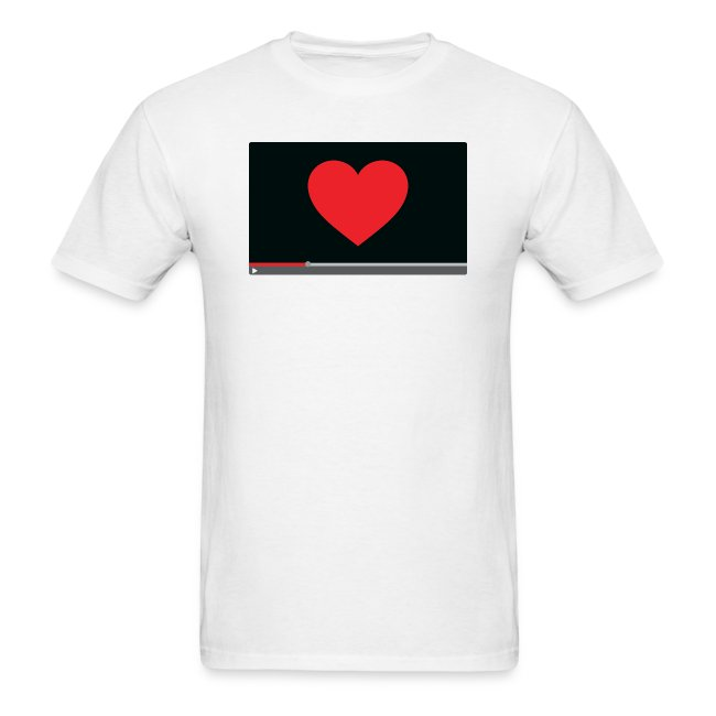 """Heart Video"" Men's T-Shirt"