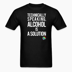 George Takei Alcohol is a Solution T-Shirts