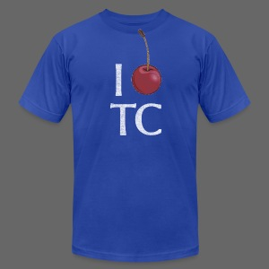 I Cherry TC - Men's T-Shirt by American Apparel