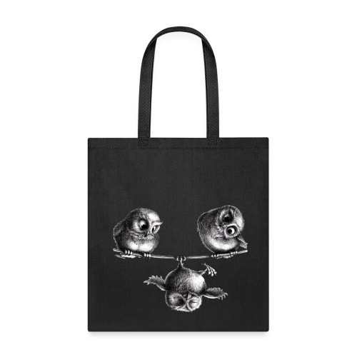owls - freedom & fun - Tote Bag