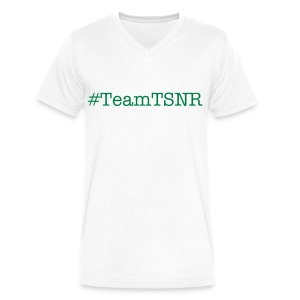 Team TSNR Shirt For Men - Men's V-Neck T-Shirt by Canvas