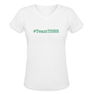 Team TSNR Shirt For Men - Women's V-Neck T-Shirt