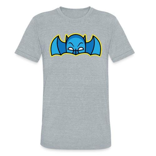 Bat Mask - Mens - athletic grey - Unisex Tri-Blend T-Shirt