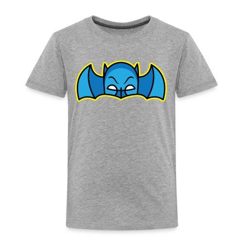 Bat Mask - Toddlers - grey - Toddler Premium T-Shirt