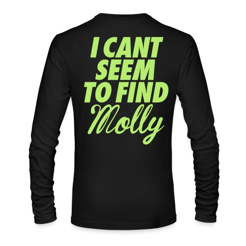 TSNR I Can't Find Molly Shirt - Men's Long Sleeve T-Shirt by Next Level