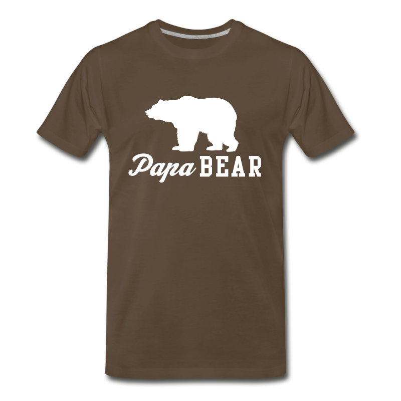 papa bear t shirt spreadshirt. Black Bedroom Furniture Sets. Home Design Ideas