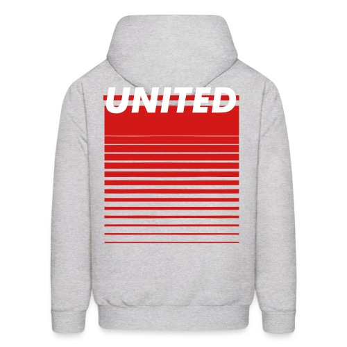 Men's Hoodie - Designs do not show when ordered in white or red.
