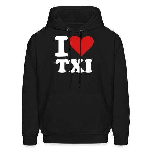 I Love TXI (Male) - Men's Hoodie