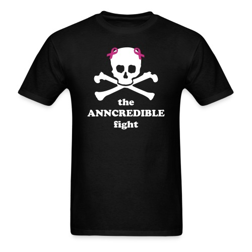 Anncredible Skull Shirt - Men's T-Shirt