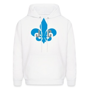 Jay Cruz blue CROWN - Men's Hoodie
