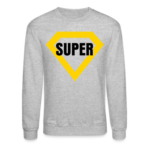 Jay Cruz BLACK SUPER - Crewneck Sweatshirt