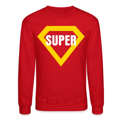 Jay Cruz WHITE SUPER - Crewneck Sweatshirt