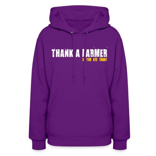 Thank A Farmer - Womens Hoodie - Women's Hoodie