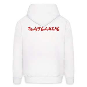 B3A5T White Sweater - Men's Hoodie