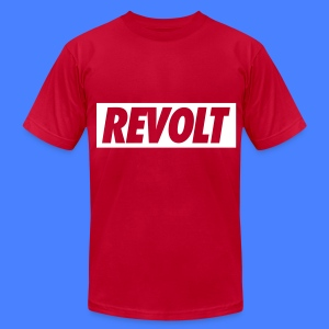 REVOLT T-Shirts - Men's T-Shirt by American Apparel