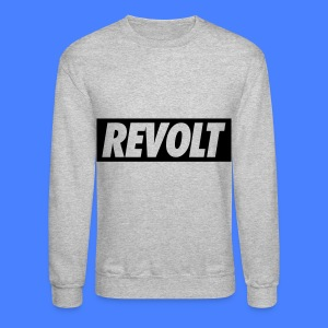 REVOLT Long Sleeve Shirts - Crewneck Sweatshirt