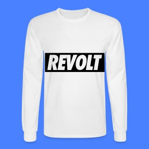 REVOLT Long Sleeve Shirts - Men's Long Sleeve T-Shirt