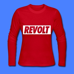 REVOLT Long Sleeve Shirts - Women's Long Sleeve Jersey T-Shirt