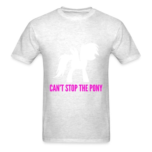 My Little Pony Cant Stop The Pony Shirt - Men's T-Shirt