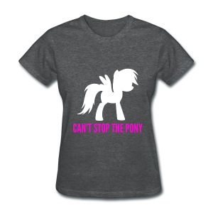 My Little Pony Cant Stop The Pony Shirt - Women's T-Shirt