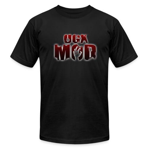UGX Mod Logo - Men's Fine Jersey T-Shirt