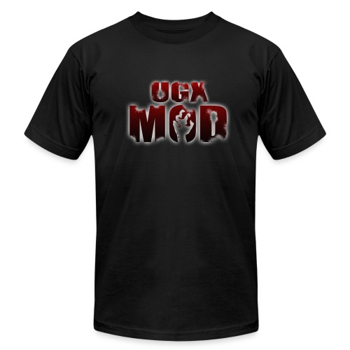 UGX Mod Logo - Men's T-Shirt by American Apparel