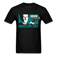 T-Shirts ~ Men's T-Shirt ~ Dirty Harry: Make my day