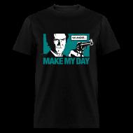 T-Shirts ~ Men's T-Shirt ~ Dirty Harry: Make my day