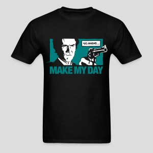 Dirty Harry: Make my day - Men's T-Shirt