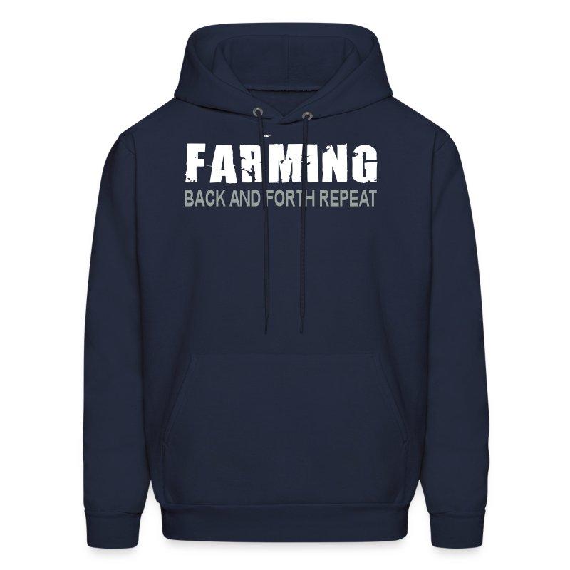 Farming - Back And Forth Repeat - Mens Hoodie - Men's Hoodie
