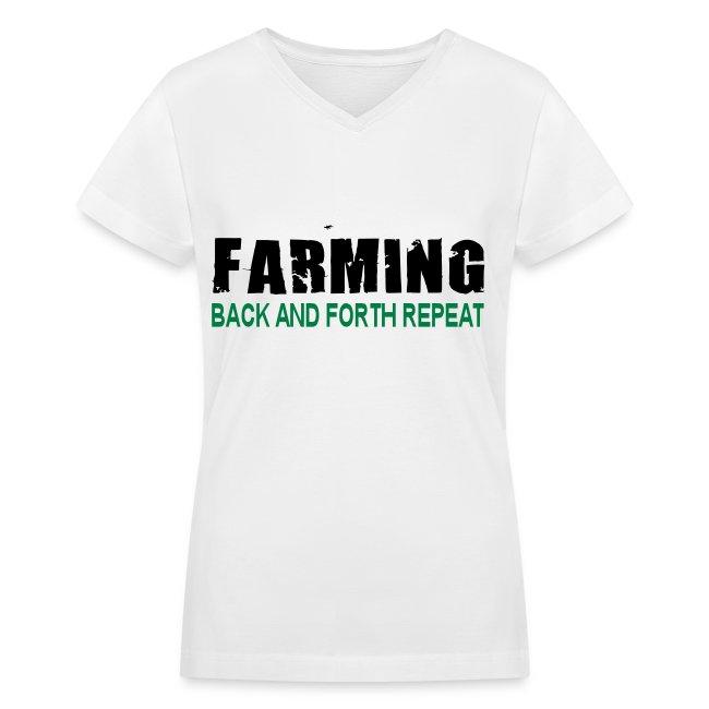 Farming Back And Fourth - Womens T-Shirt