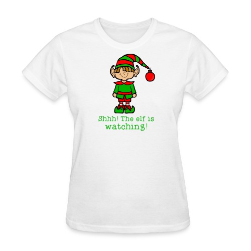 Elf is watching - Women's T-Shirt