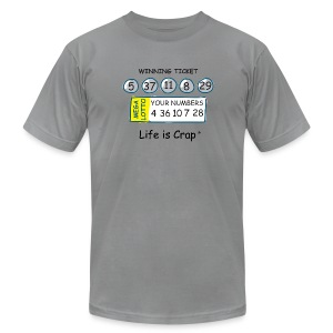 Lotto - Mens T-shirt by American Apparel - Men's Fine Jersey T-Shirt