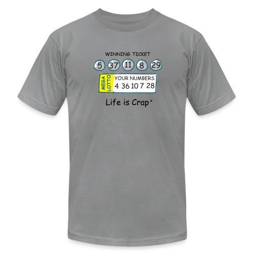 Lotto - Mens T-shirt by American Apparel - Men's Fine Jersey T-Shirt