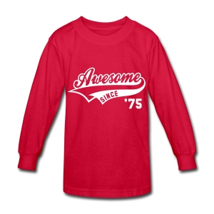 Awesome Before I Was Even Born  - Kids' Long Sleeve T-Shirt