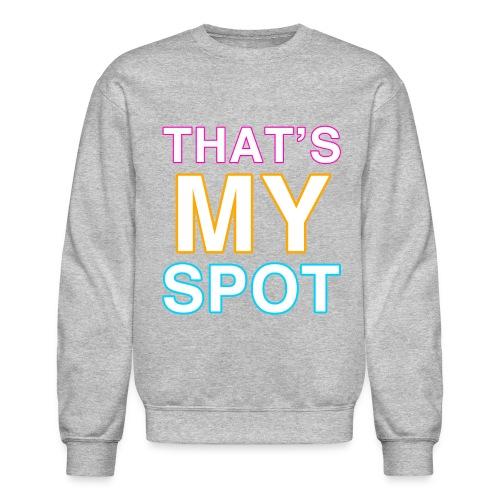 The Big Bang Theory Thats My Spot Sweater - Crewneck Sweatshirt