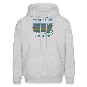 Cut Off - Mens Hooded Swestshirt - Men's Hoodie