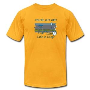 Cut Off - Mens T-shirt by American Apparel - Men's Fine Jersey T-Shirt