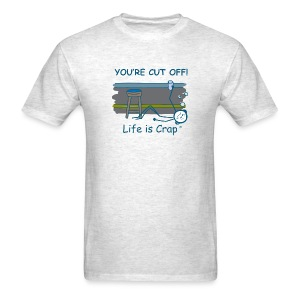 Cut Off - Mens Classic T-shirt - Men's T-Shirt