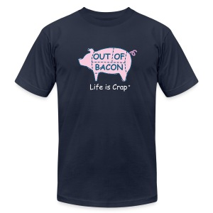 Out of Bacon - Men's T-Shirt by American Apparel - Men's Fine Jersey T-Shirt