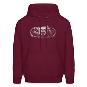 Flying Merkel Boardtrack Racer - Men's Hoodie