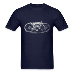 Flying Merkel Boardtrack Racer - Men's T-Shirt