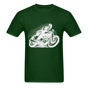 Vintage Motorcycle Racer - Men's T-Shirt