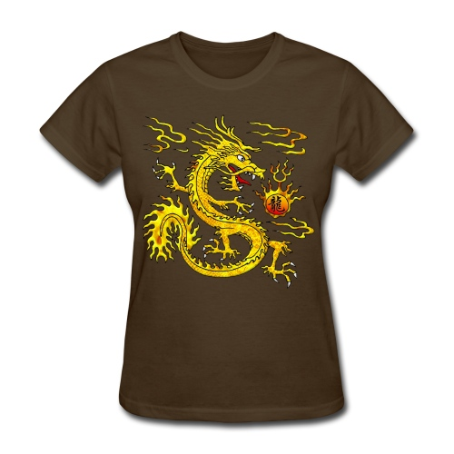 Gold Dragon T - Women's T-Shirt