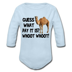 Hump Day Camel - Long Sleeve Baby Bodysuit